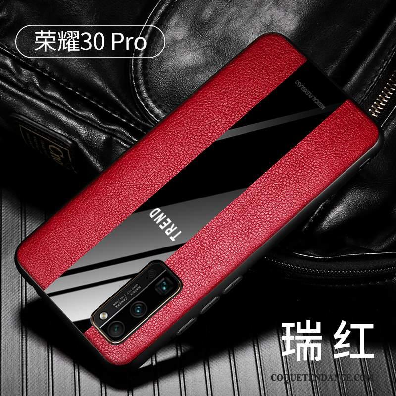 Honor View30 Pro Coque Très Mince À Bord Silicone Fluide Doux