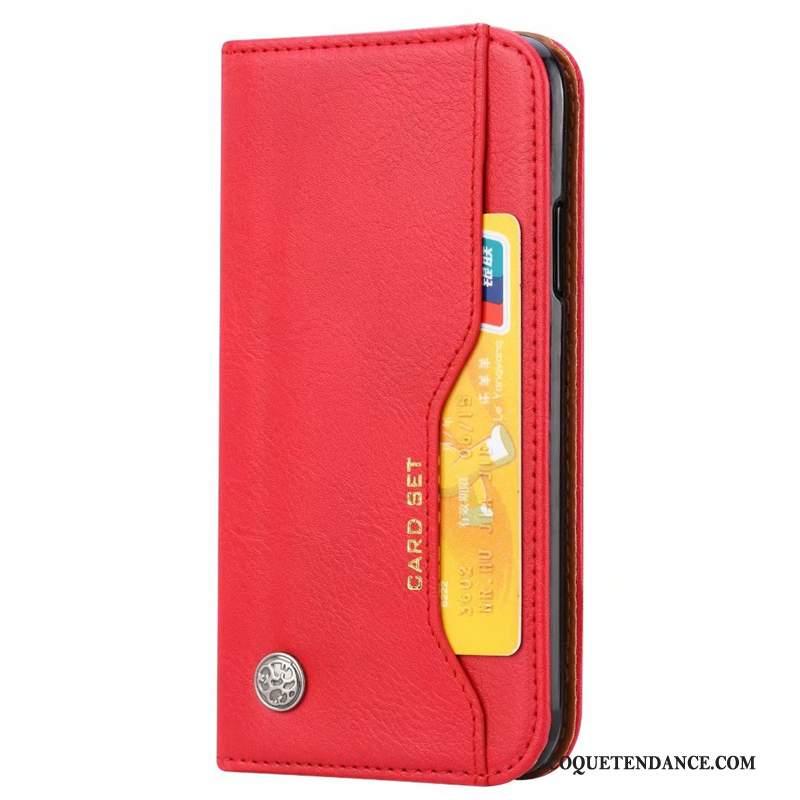 Samsung Galaxy A50 Coque Portefeuille Carte Étui En Cuir Support Classique