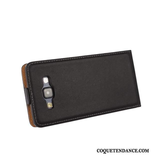 Samsung Galaxy A7 2015 Coque Protection Étui Noir Mince