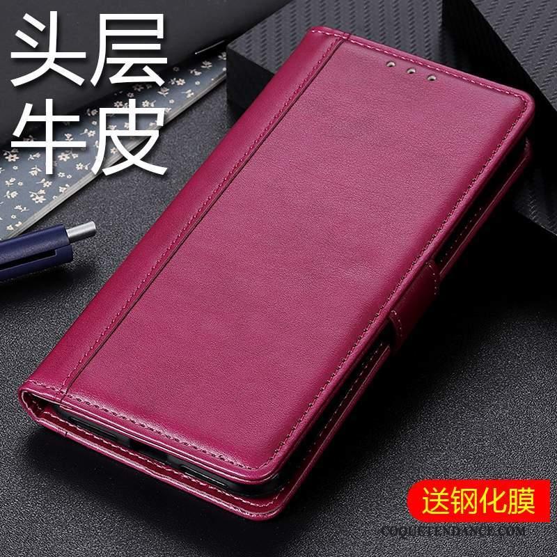 Samsung Galaxy A90 5g Coque Tout Compris Rouge Nouveau Housse De Téléphone