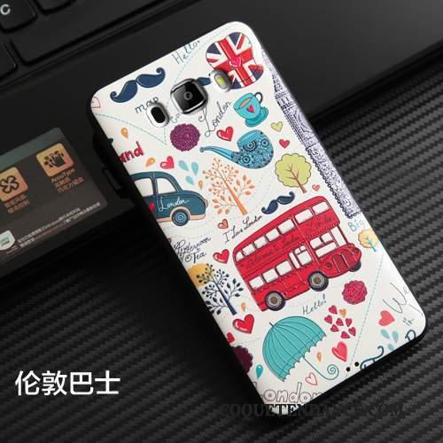 Samsung Galaxy J7 2016 Coque Fluide Doux Dessin Animé Protection Étui Incassable