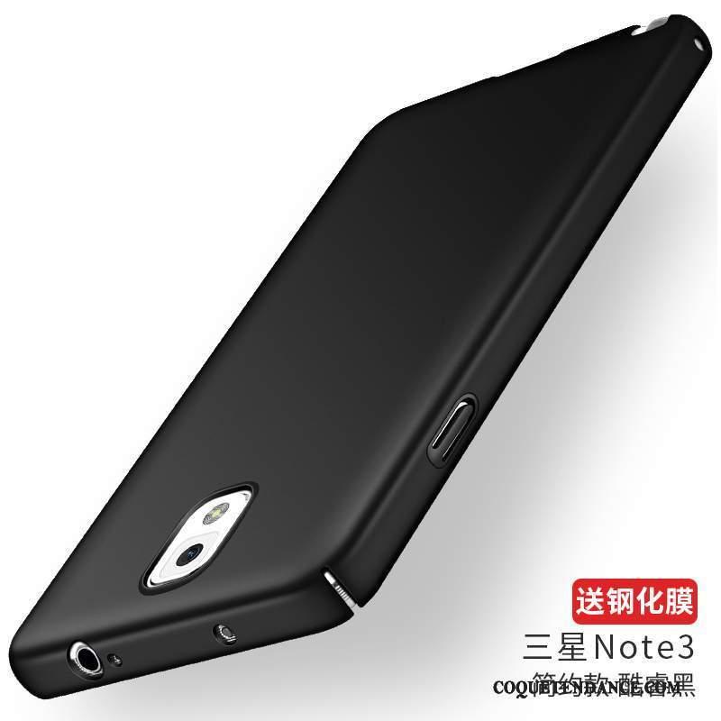 Samsung Galaxy Note 3 Coque Bleu Marin Délavé En Daim Étui Difficile Silicone