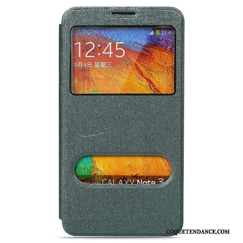 Samsung Galaxy Note 3 Coque Couvercle Arrière Étui En Cuir Incassable Protection Support