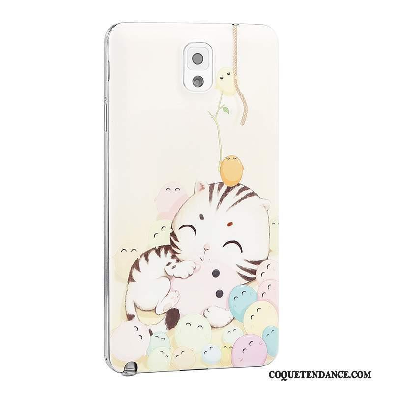 Samsung Galaxy Note 3 Coque De Téléphone Dessin Animé Couvercle Arrière Gaufrage Étui