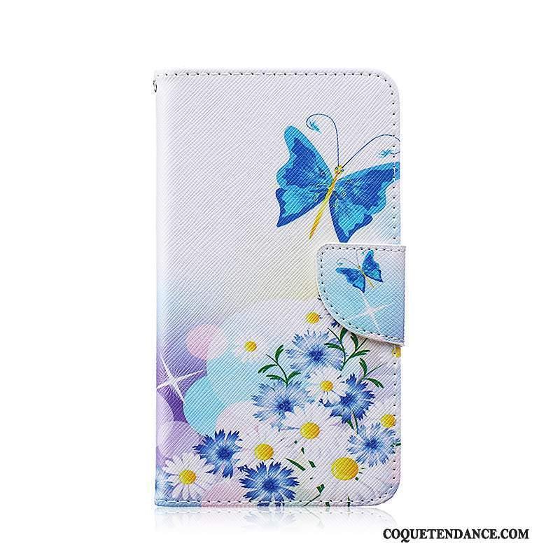 Samsung Galaxy Note 3 Coque De Téléphone Protection Étui En Cuir Dessin Animé Bleu