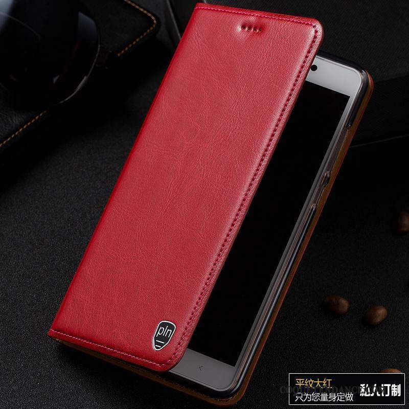 Samsung Galaxy Note 3 Coque De Téléphone Rouge Étui Housse Étui En Cuir