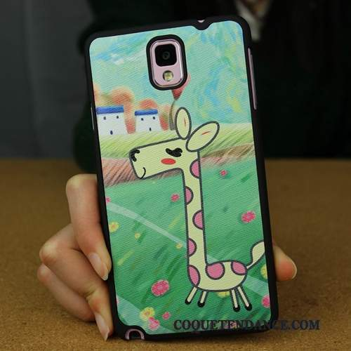 Samsung Galaxy Note 3 Coque Dessin Animé Difficile Multicolore Étui Charmant