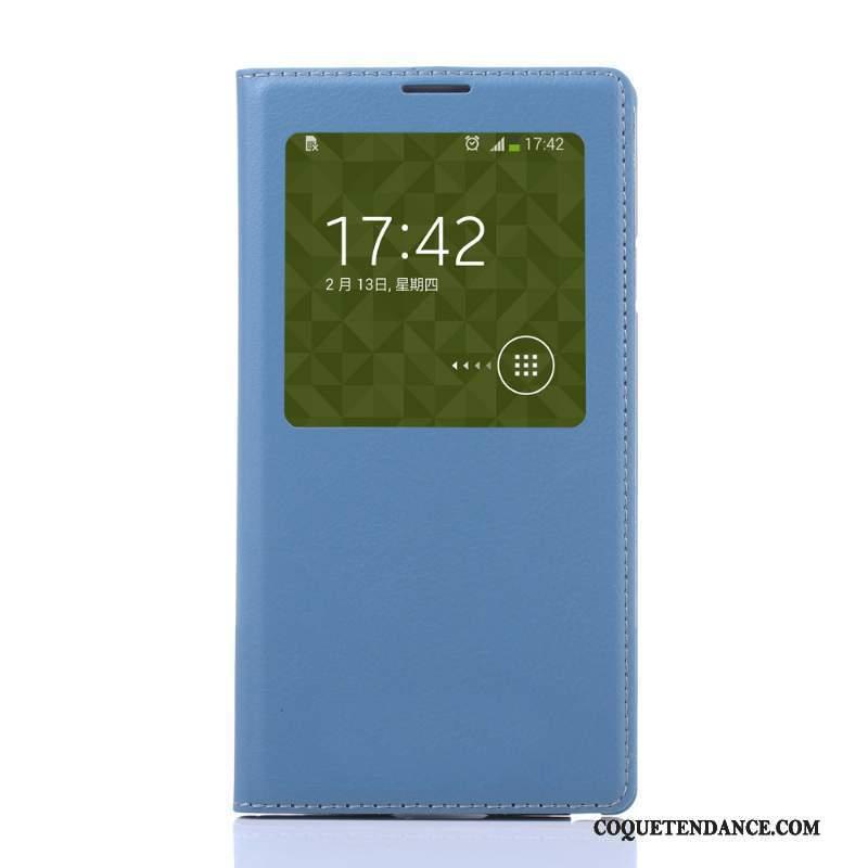 Samsung Galaxy Note 3 Coque Housse Protection Étui En Cuir Orange