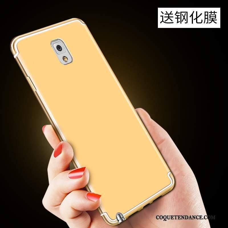 Samsung Galaxy Note 3 Coque Jaune Protection De Téléphone Étui Fluide Doux