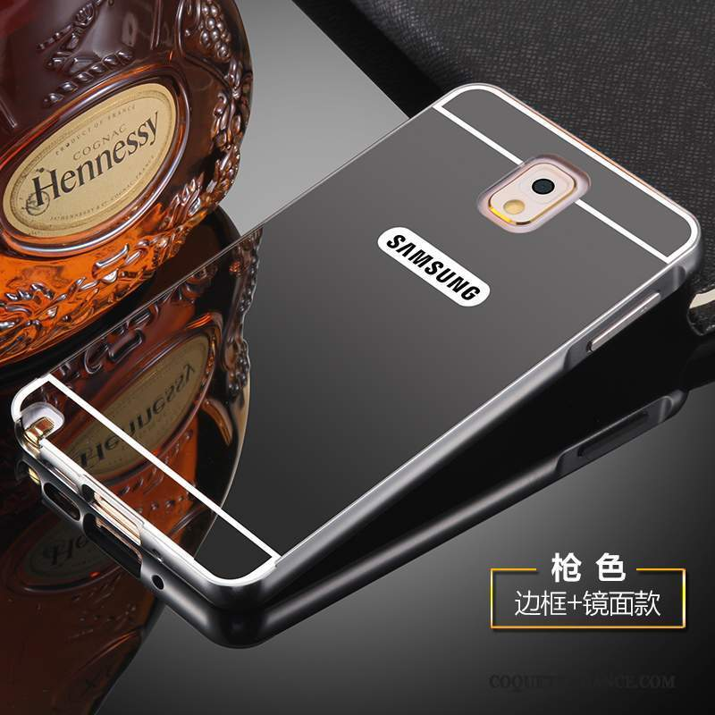 Samsung Galaxy Note 3 Coque Protection Métal Couvercle Arrière Or Incassable