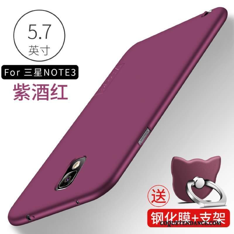 Samsung Galaxy Note 3 Coque Silicone Protection De Téléphone Noir Tendance