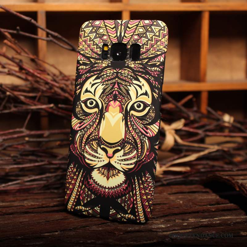 Samsung Galaxy S8 Coque Protection Difficile Animal Personnalité