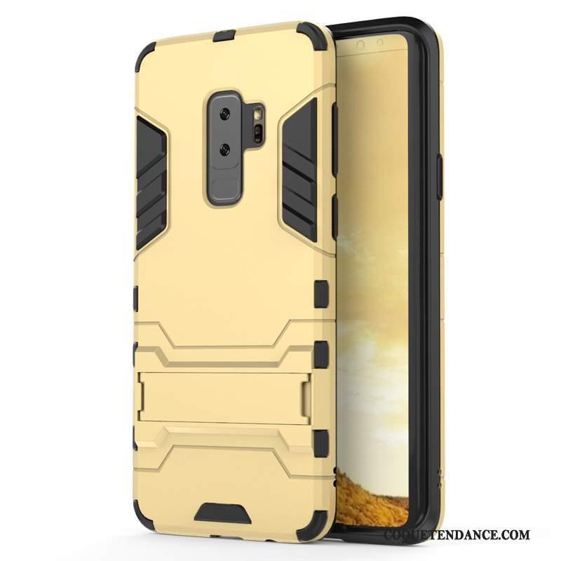 Samsung Galaxy S9+ Coque Fluide Doux Étui Tout Compris Protection Silicone