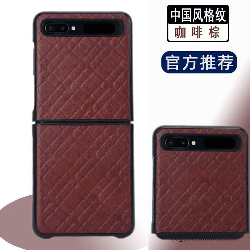 Samsung Z Flip Coque Housse Incassable Étui Divisé