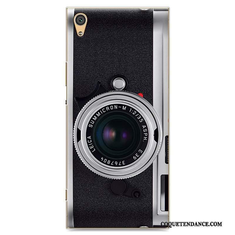 Sony Xperia Xa1 Ultra Coque Protection Vintage Tendance Étui Créatif