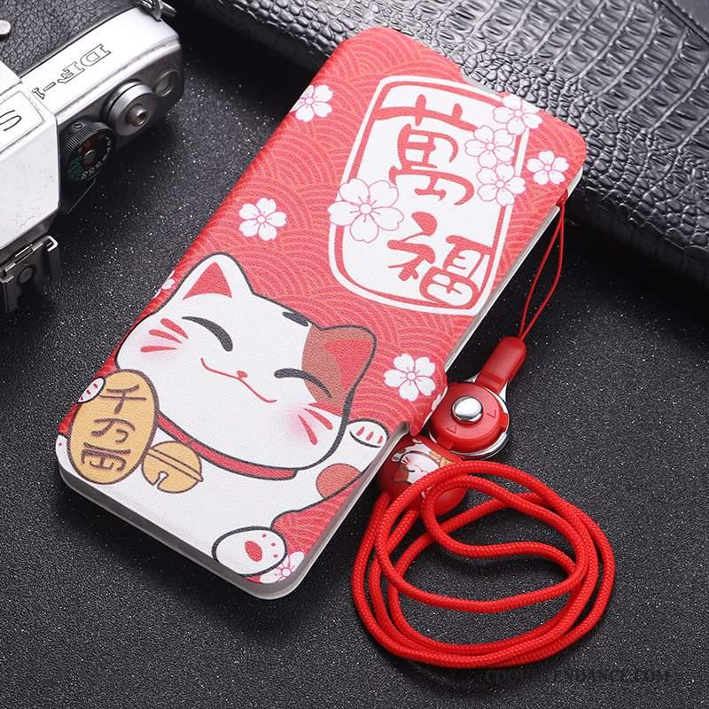 iPhone 11 Pro Coque Silicone De Téléphone Clamshell Protection Rouge