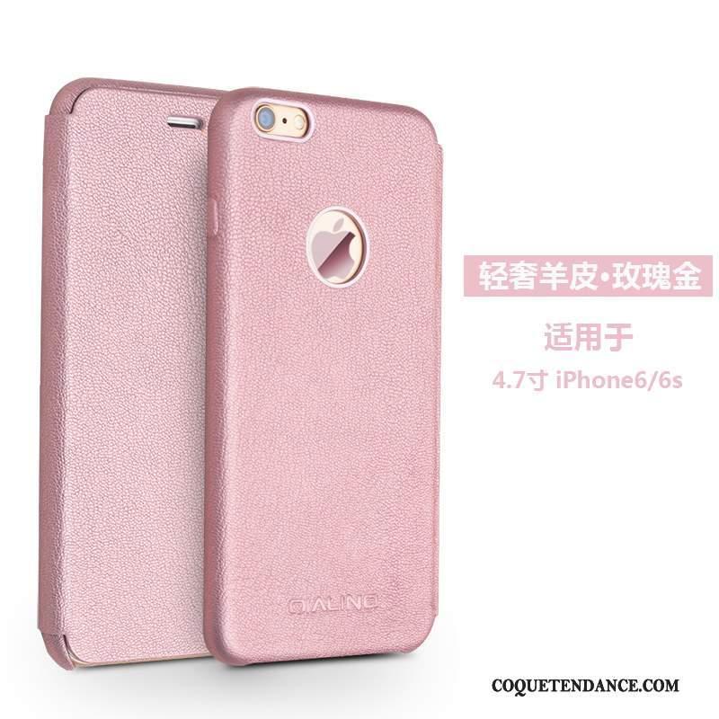 iPhone 6/6s Coque Étui Protection Étui En Cuir De Téléphone Marron