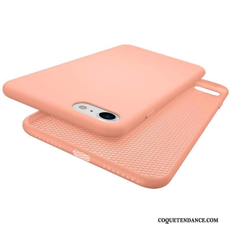 iPhone 7 Coque Tendance Créatif Jaune De Téléphone Rose
