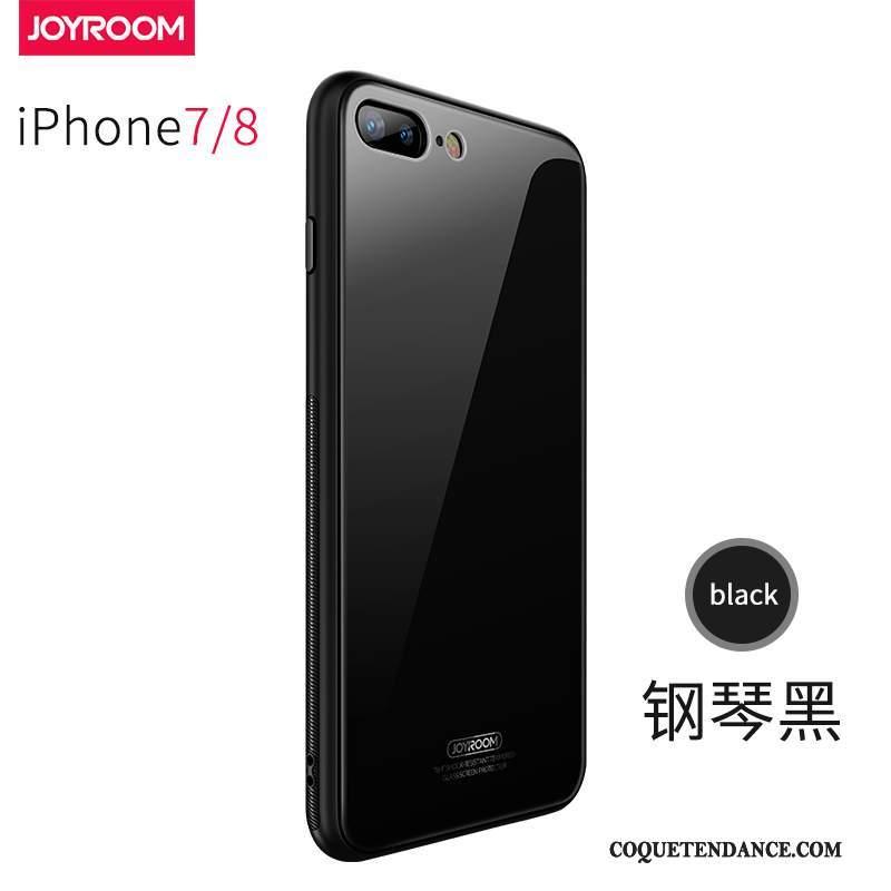 iPhone 8 Coque Incassable Bleu Verre Nouveau