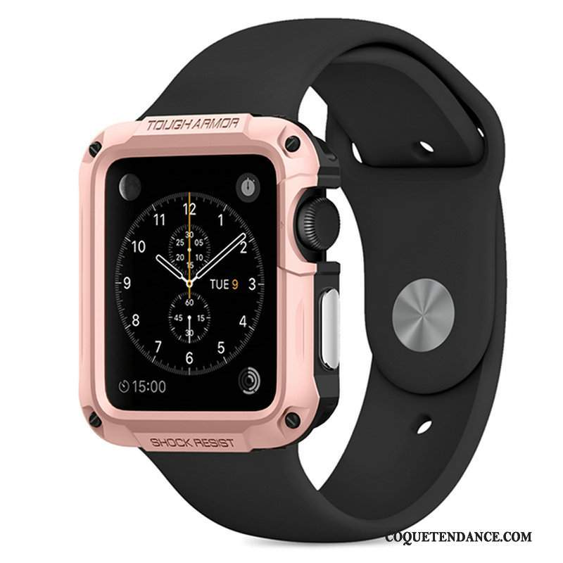 Apple Watch Series 1 Coque Étui Sport Outdoor Or Rose