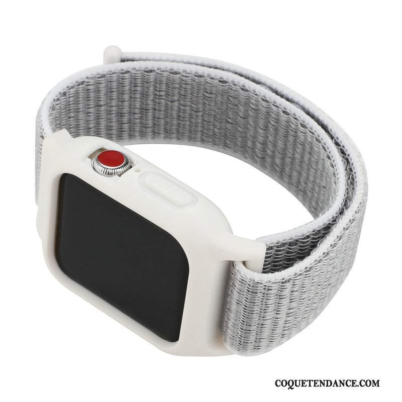 Apple Watch Series 1 Coque Blanc Protection Nylon