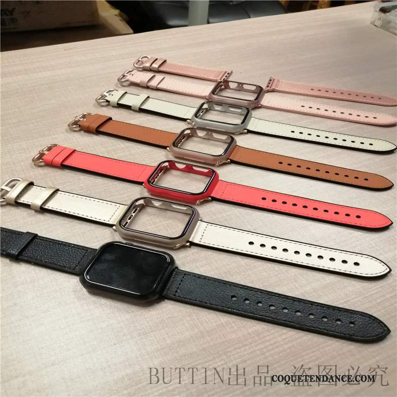 Apple Watch Series 1 Coque Couleur Étui Protection Une Agrafe