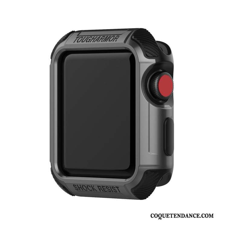Apple Watch Series 1 Coque Noir Gris Étui Protection
