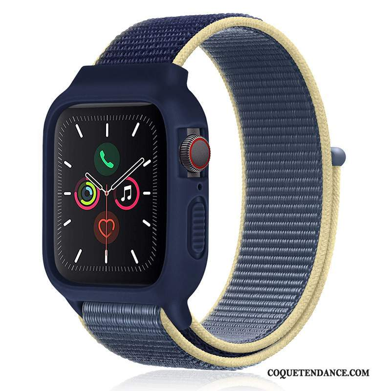 Apple Watch Series 1 Coque Silicone Nouveau Sport Bleu