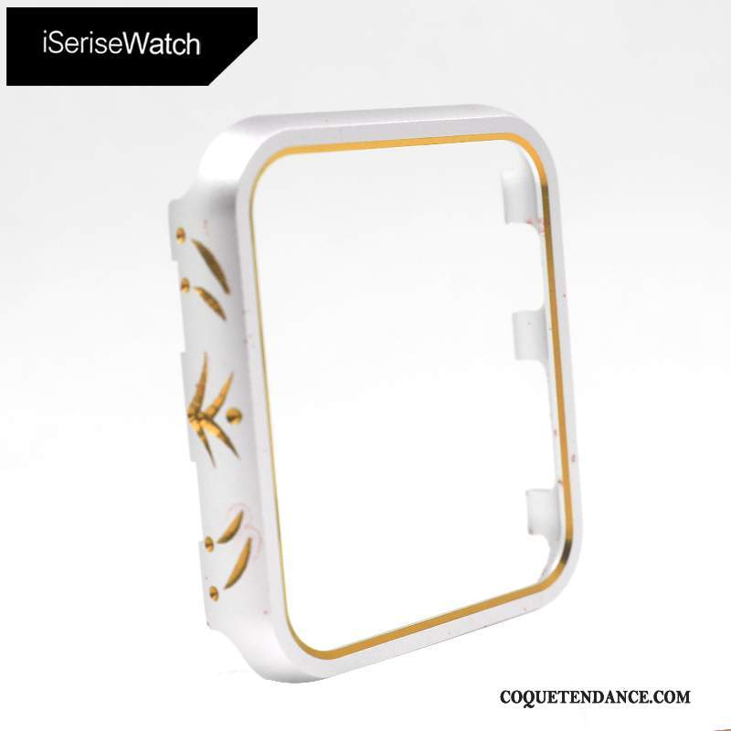 Apple Watch Series 2 Coque Étui Métal Or Protection
