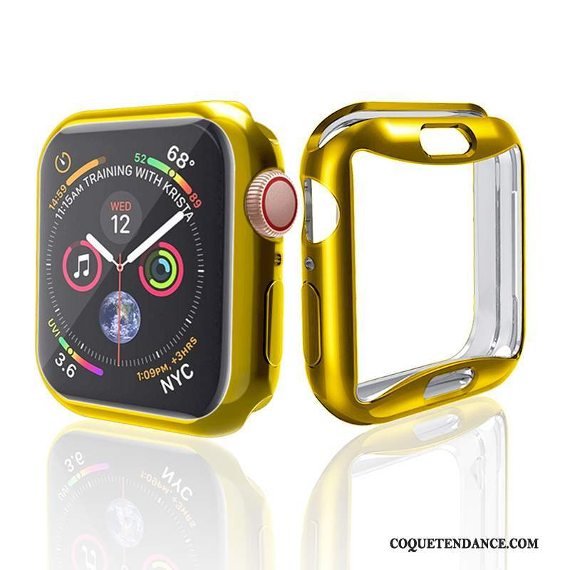Apple Watch Series 2 Coque Accessoires Silicone Or Placage Tendance