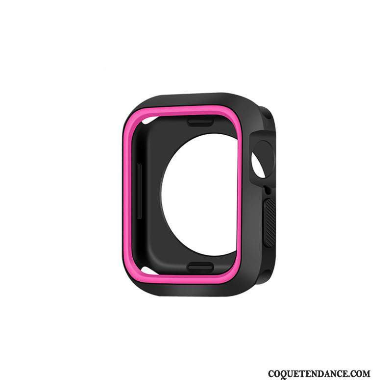 Apple Watch Series 2 Coque Incassable Protection Rouge Étui Tendance
