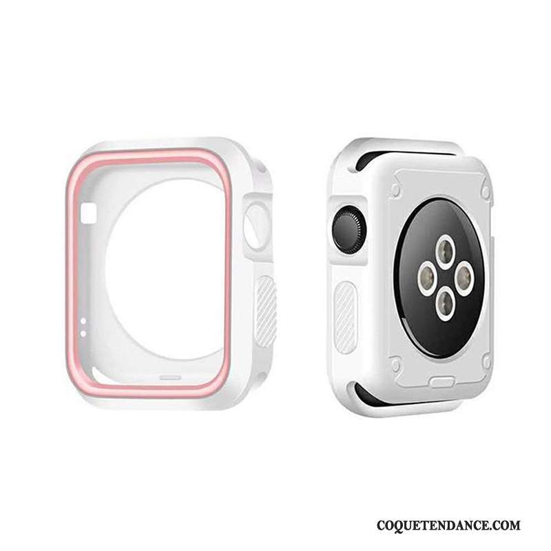 Apple Watch Series 5 Coque Étui Protection Blanc Border Accessoires