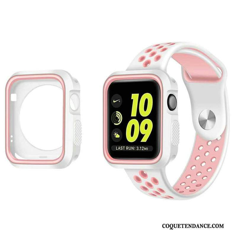 Apple Watch Series 5 Coque Étui Sport Protection Blanc
