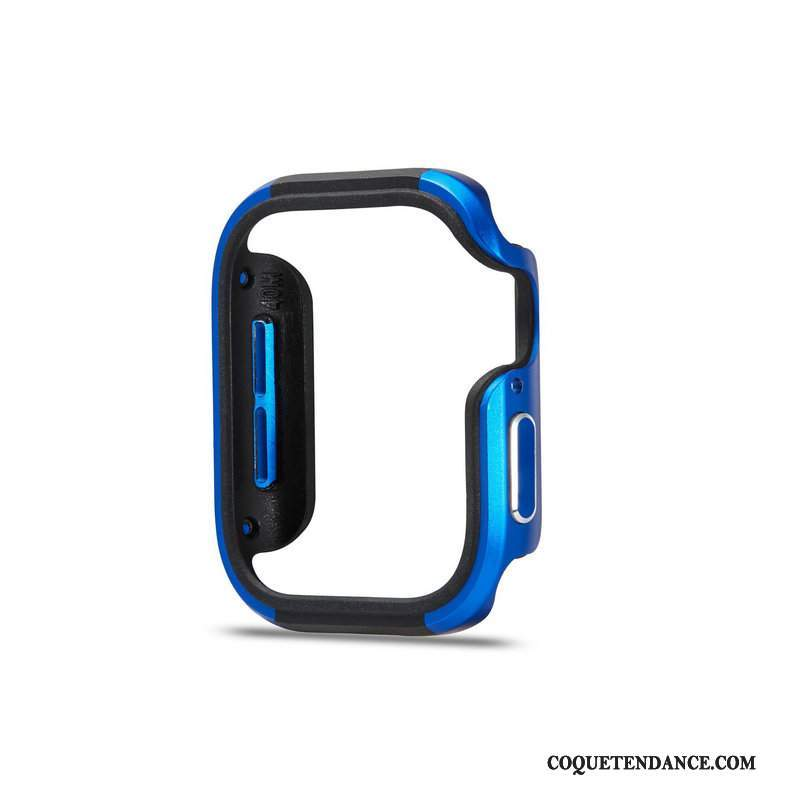 Apple Watch Series 5 Coque Incassable Protection Bleu Border