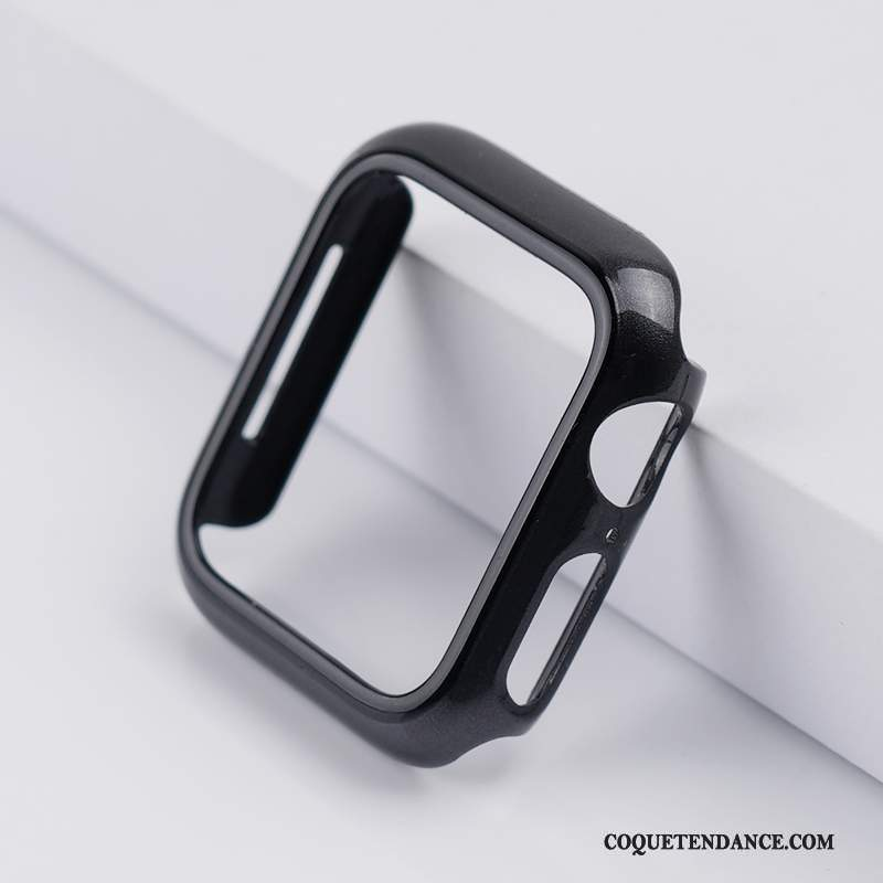 Apple Watch Series 5 Coque Noir Protection Étui Jours Incassable