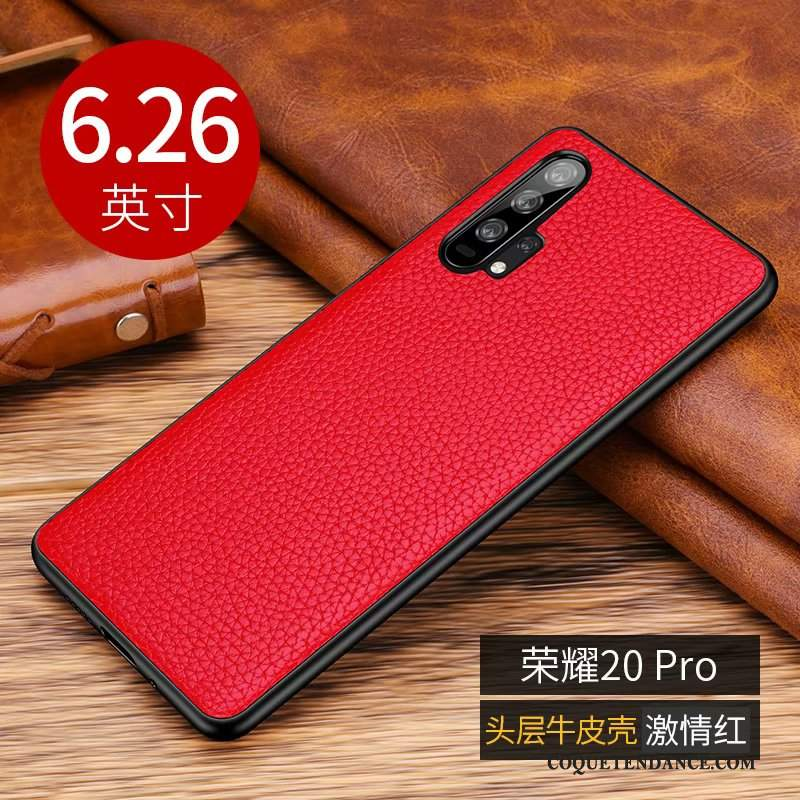 Honor 20 Pro Coque Incassable Silicone Nouveau Business Étui