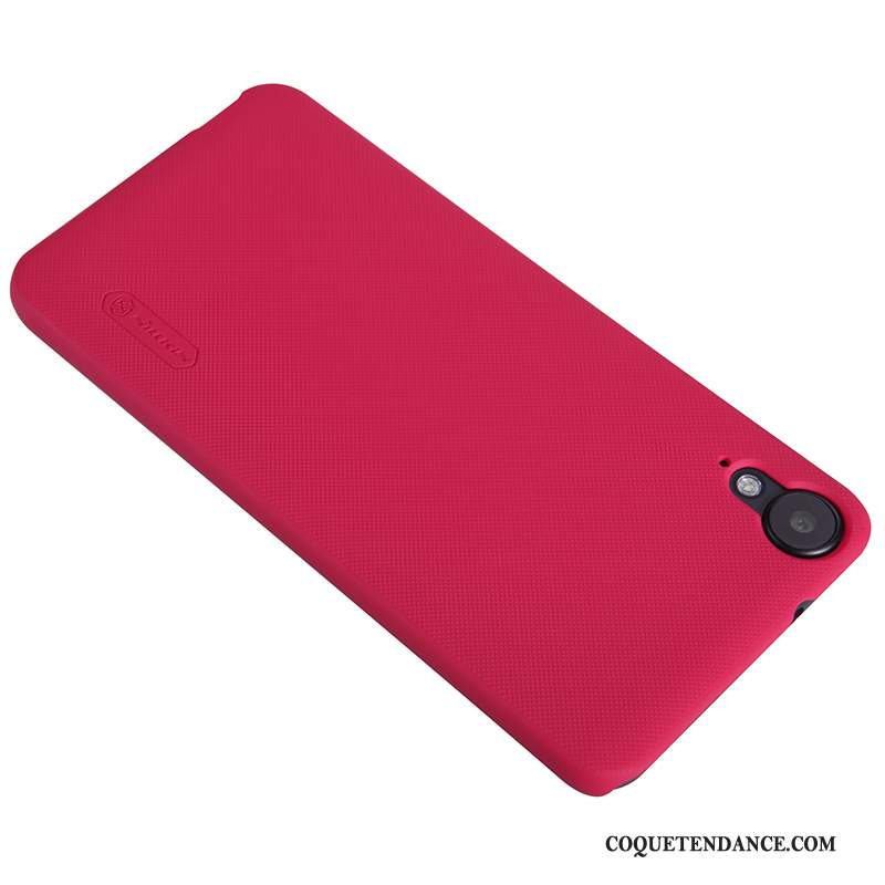 Htc Desire 825 Coque Or Protection Rouge Incassable