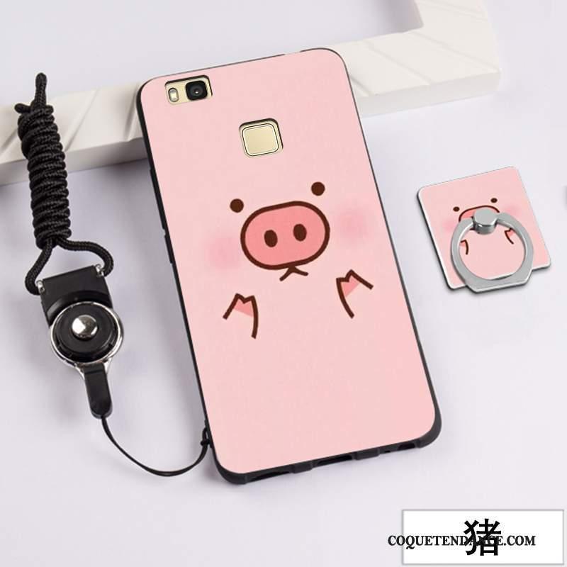 Huawei G9 Lite Coque Dessin Animé Jeunesse Peinture Étui Silicone