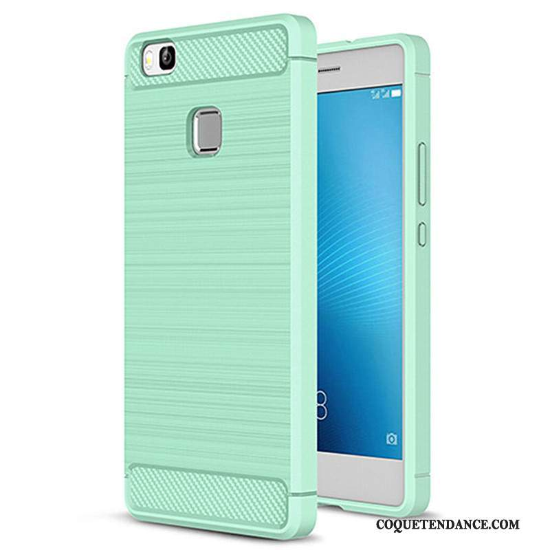 Huawei G9 Lite Coque Silicone Étui Vert Protection