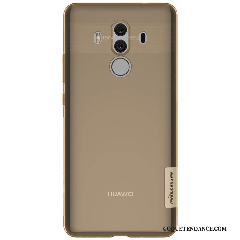 Huawei Mate 10 Pro Coque En Silicone Transparent Or De Téléphone Bordure