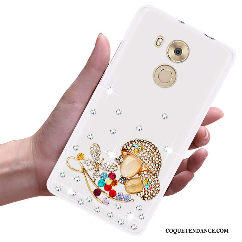 Huawei Mate 8 Coque Strass Créatif Fluide Doux Protection