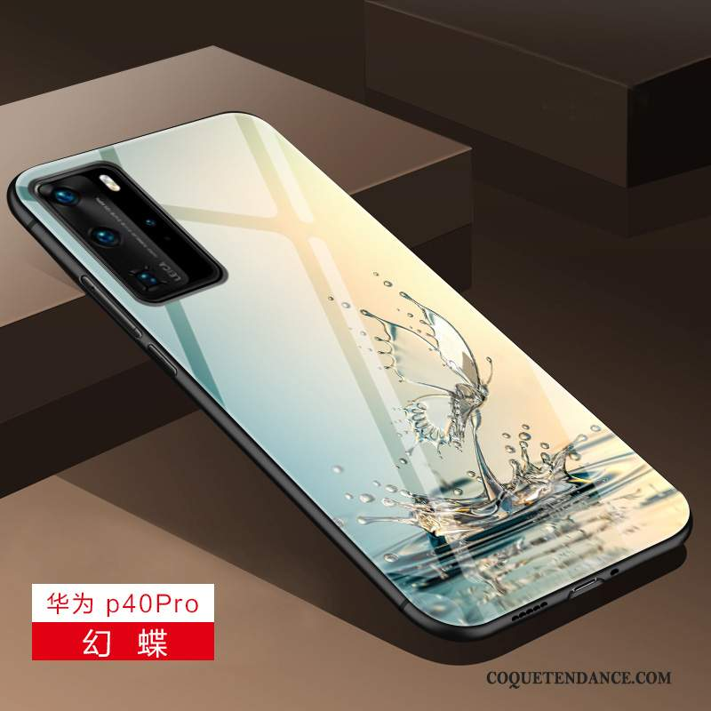 Huawei P40 Pro Coque Tout Compris Lumineuses Luxe Incassable Protection