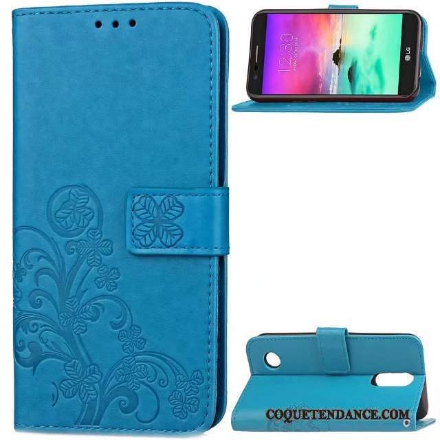 Lg K4 2017 Coque Bleu Simple Ornements Suspendus Housse Incassable