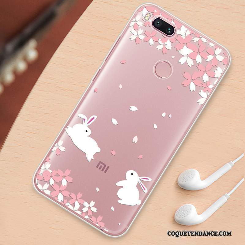 Mi 6 Coque Charmant Transparent Silicone Ornements Suspendus Tout Compris