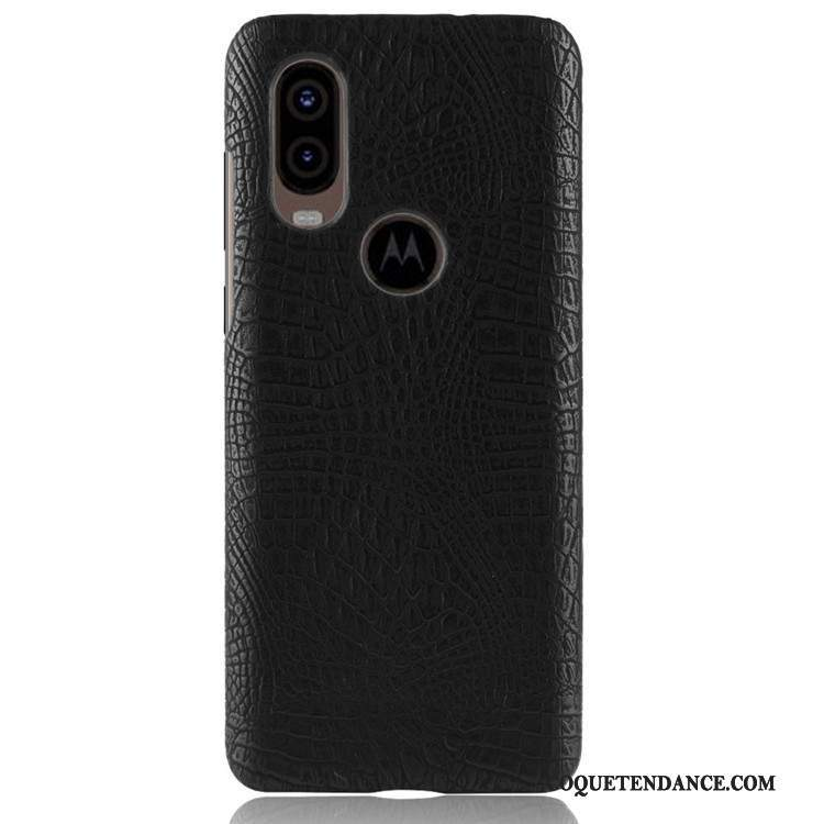 Motorola One Vision Coque Difficile Antidérapant Sac Protection