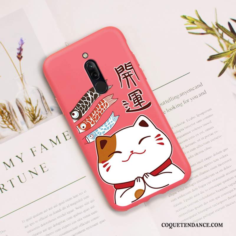Redmi 8 Coque Incassable Protection Tout Compris Chat Rose