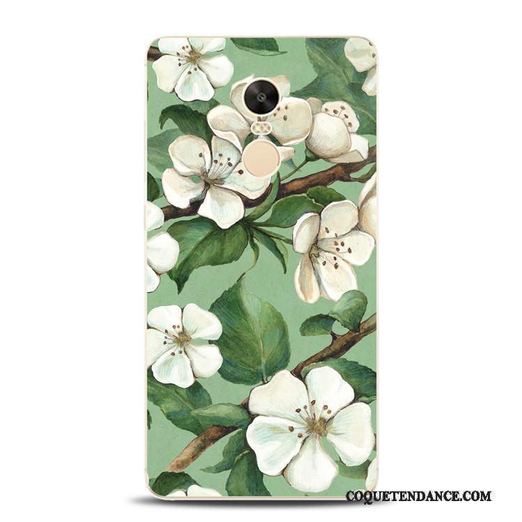 Redmi Note 4x Coque Protection Vert Rouge Encre