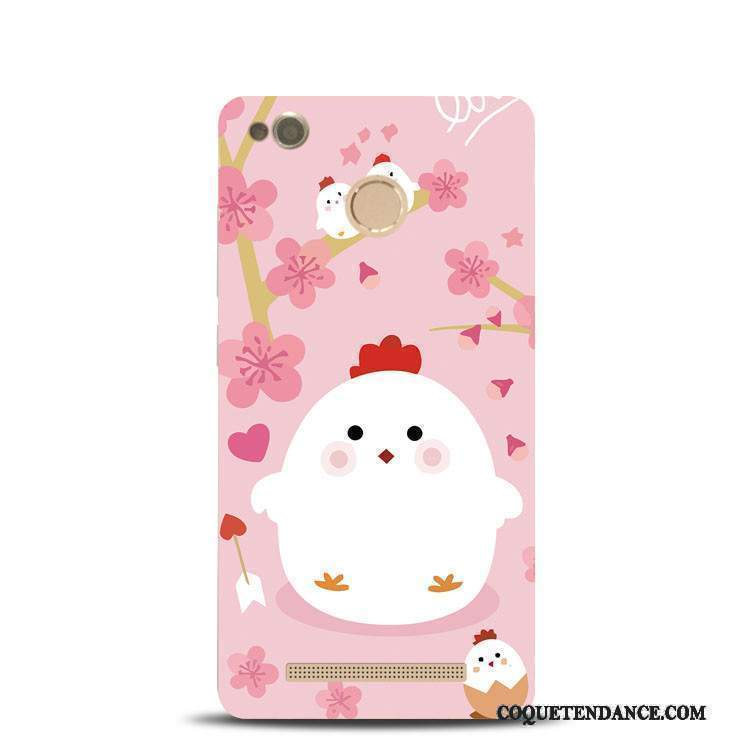 Redmi Note 4x Coque Support Haute Rose Rouge Poulet