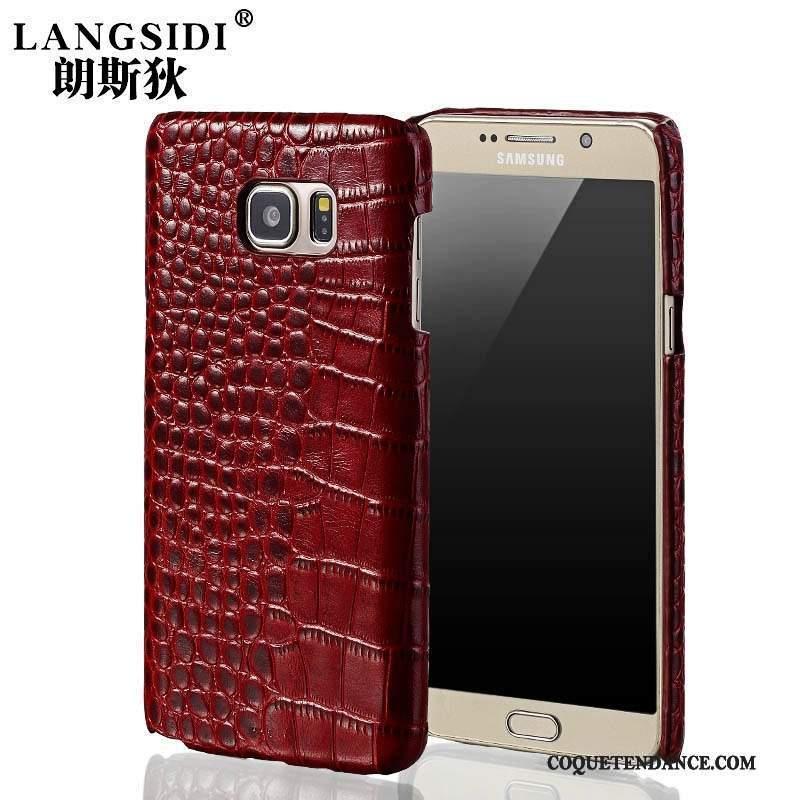 Samsung Galaxy A5 2015 Coque Fluide Doux Couvercle Arrière Cuir De Téléphone Cuir Véritable