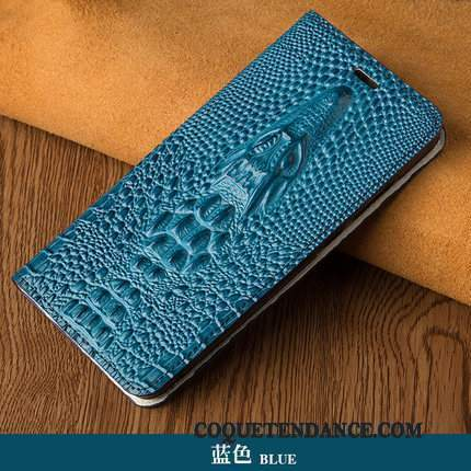 Samsung Galaxy A8+ Coque Housse Bleu Business Dragon Étui